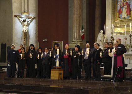 """Antigua Basílica de Guadalupe celebra """"Oración Interreligiosa por la Paz"""""""