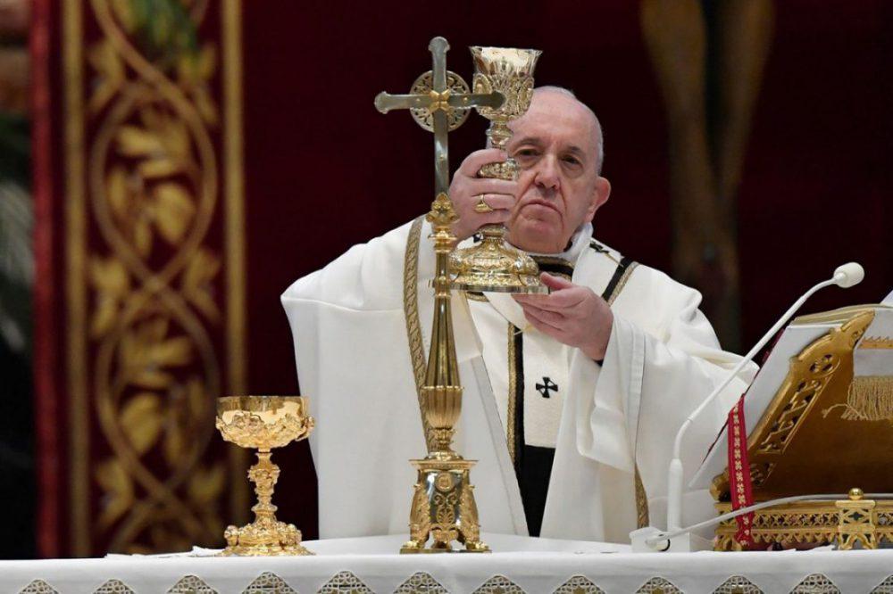 """Papa Francisco celebra misa del Domingo de Resurrección e imparte bendición """"Urbi et Orbi"""""""