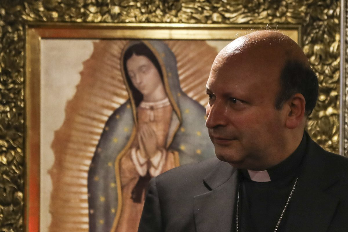 Iglesia en México en oración por visita del Nuncio Coppola a Apatzingán