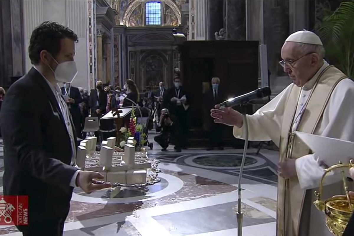 El Papa Francisco inaugura maratón mundial de oración por el fin de la pandemia