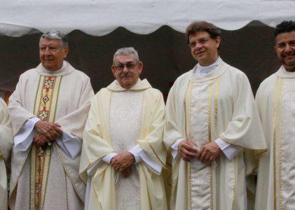 Misioneros de Guadalupe celebra misa por el 50 aniversario sacerdotal del P. Felipe de Jesús Martínez Navarro, MG.
