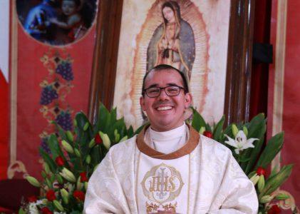 Misioneros de Guadalupe celebra misa de ordenación sacerdotal del D. Miguel Ángel Ramírez Flores
