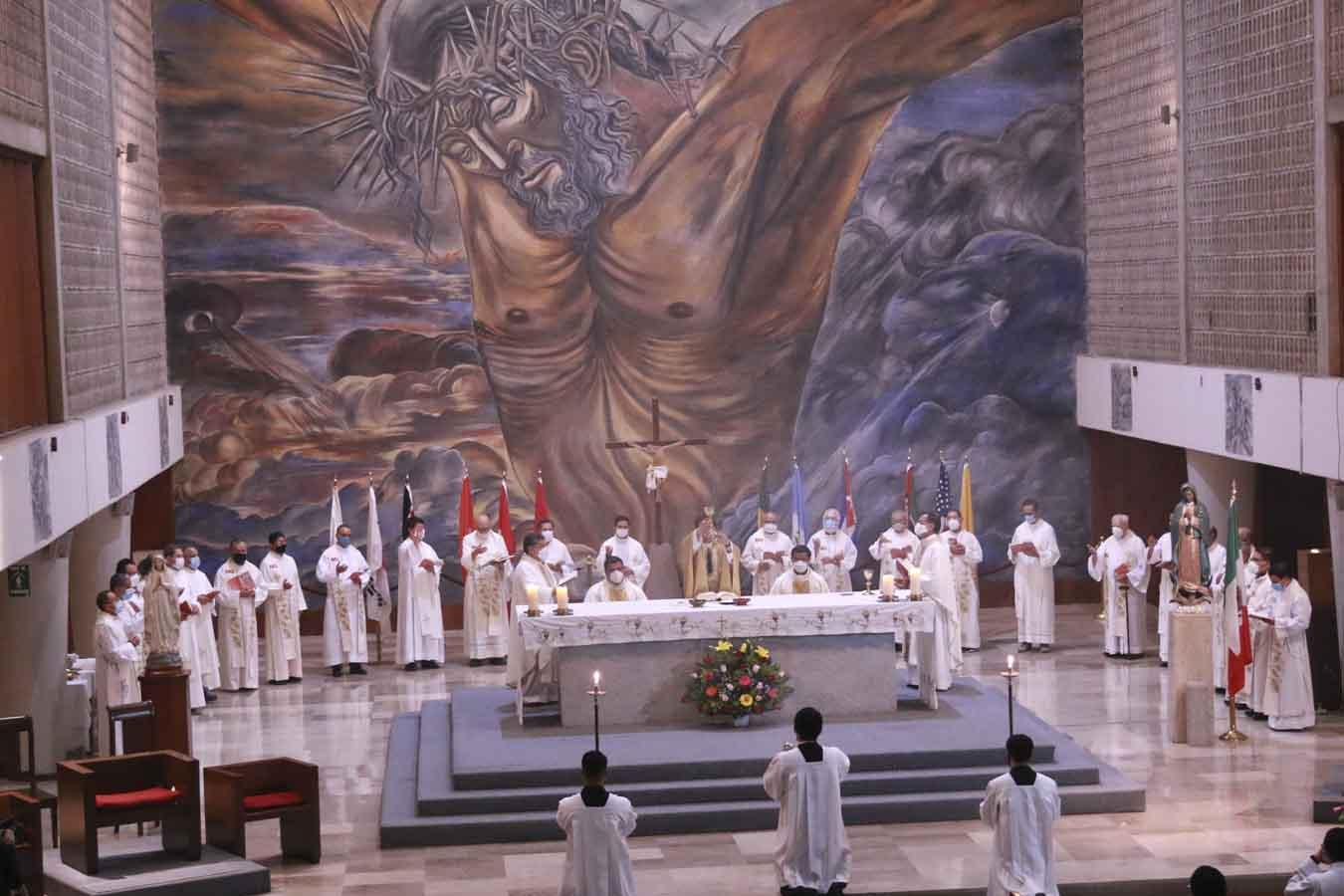 Misioneros de Guadalupe celebra misa por sus 72 años de labor misionera