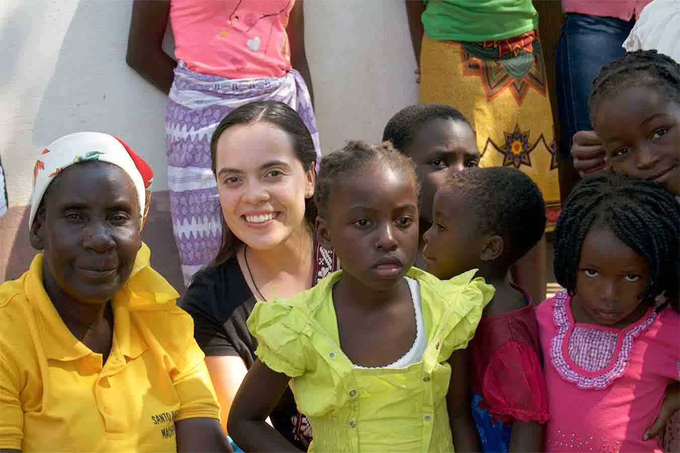 Brenda regresa de la Misión de Mozambique